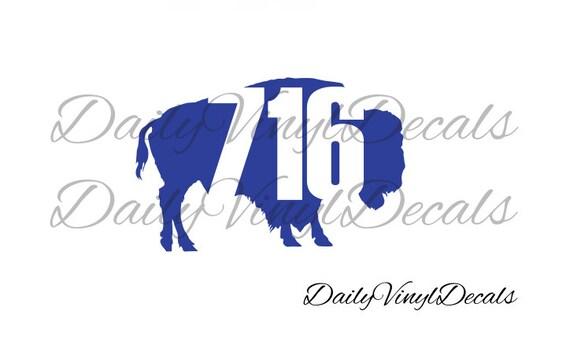 Buffalo NY Vinyl Decal Choose Size Color Buffalo New - Custom vinyl decals buffalo ny
