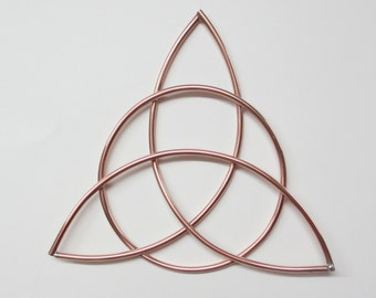 Celtic Trinity Knot | Celtic home decor | Copper wall art | Triquetra | Irish Gifts | Metal wall art | Irish home decor | St. Patricks Day