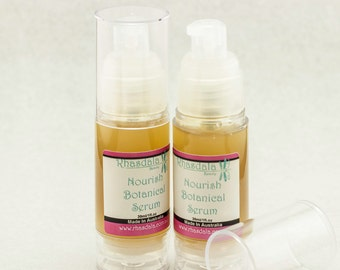 30ml Botanical Serum - Nourish - For Dry/Mature Skin