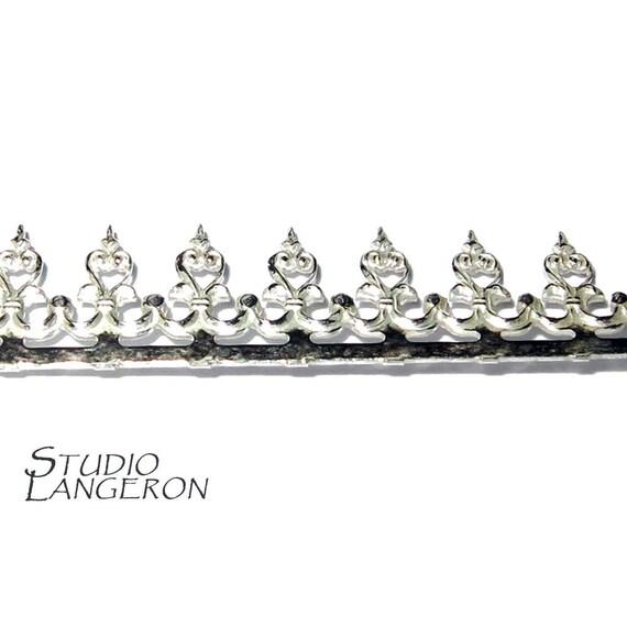 935 sterling silver bezel wire  gallery wire  gallery