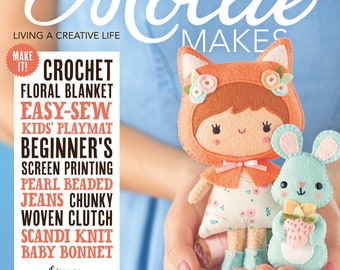 Mollie Makes, Handmade Crafts, Mollie Makes Issue 89, New Mollie Makes Magazine, Cross Stitch Kit