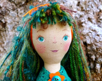 Bridget - A Soft Rag Doll