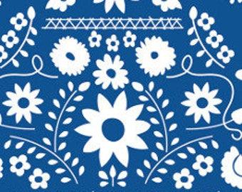 Fabric - Art gallery - jersey fabric - Fiesta Fun Mexican Dress Midnight  knit