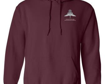 Master HALO Embroidered Hooded Sweatshirt-7737