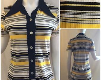 1970s Stripe Tunic