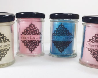 Soy Blend Candle Sample Set of 4