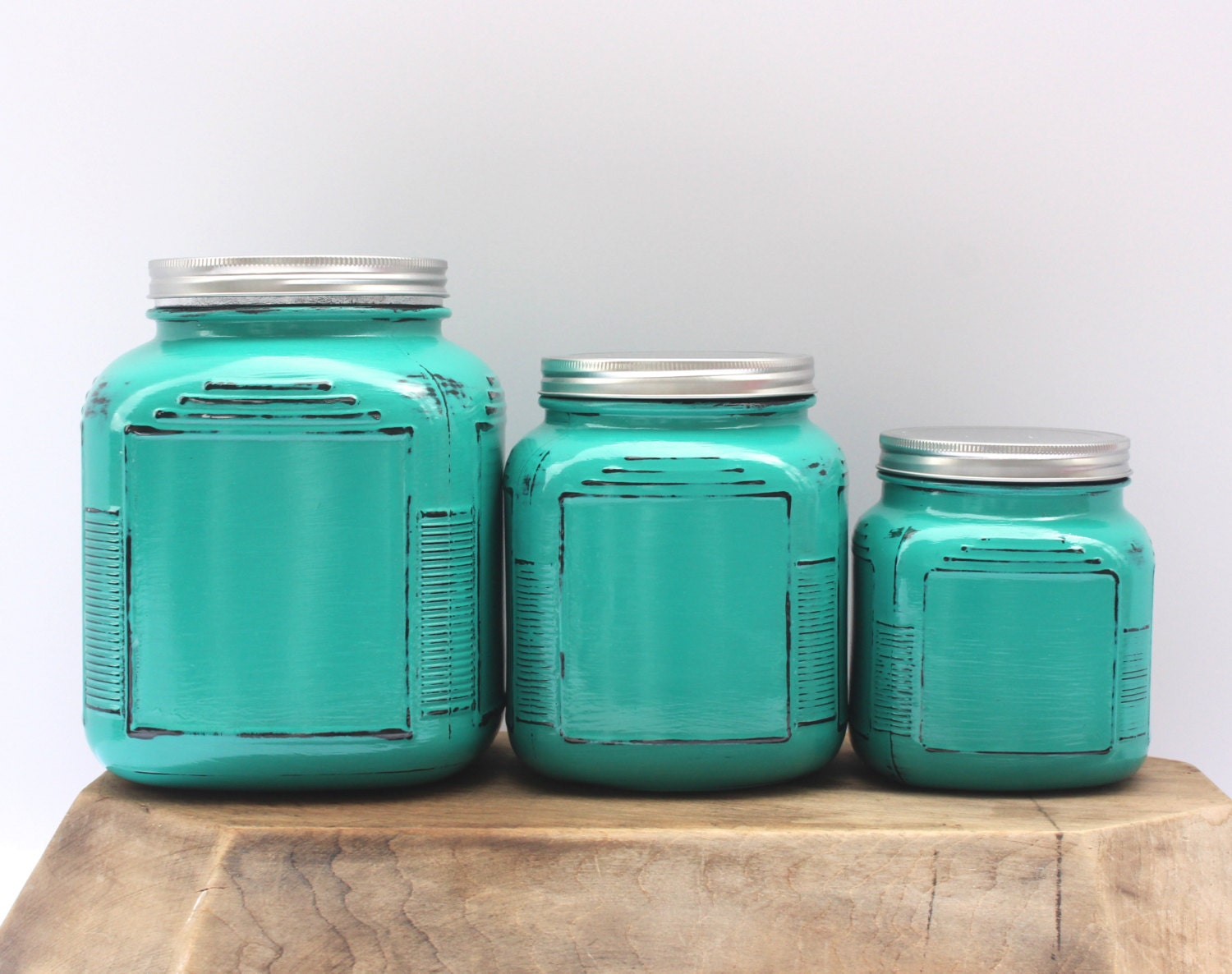 Great Turquoise Kitchen Canisters Pictures >> Teal Kitchen Canisters ...