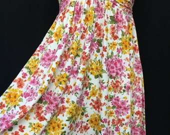 90's Betsey Johnson Floral Babydoll Sundress