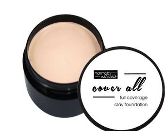 Healing Foundation Makeup Clay Full Coverage Natural