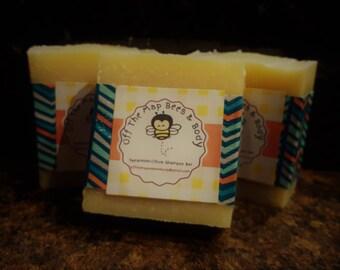 Spearmint Citrus Shampoo Bar