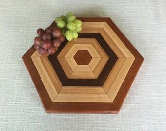 Hexagon cutting board