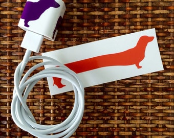 Dachshund iPhone/iPad Charger Wrap - The Original Doxie Charger Wrap