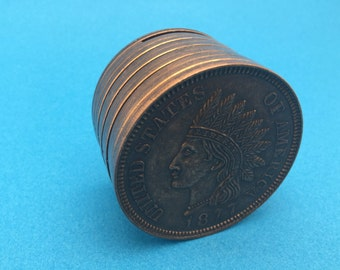 Indian Head Penny Bank