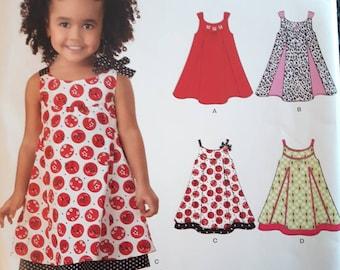New Look 6974, Girl's Summer Dress