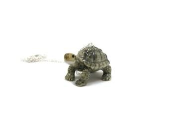Tortoise Necklace, Charm Necklace, Charm Jewelry, Tortoise Pendant, Turtle Jewelry, Turtle Charm, Tortoise Jewelry, Turtle Necklace