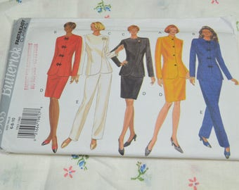 Butterick 3563  Misses /Top Skirt and Pants Sewing Pattern - UNCUT - Size 6 8 10