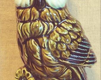 Vintage Owl Planter (C2)