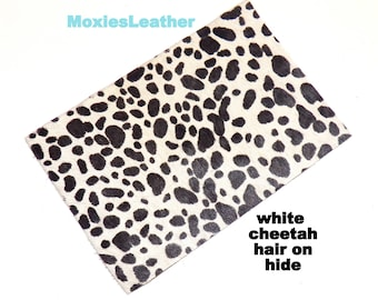 leather piece animal print leather pieces- hair on hide print leather - leopard and zebraprint leather - leather hide with hair on -