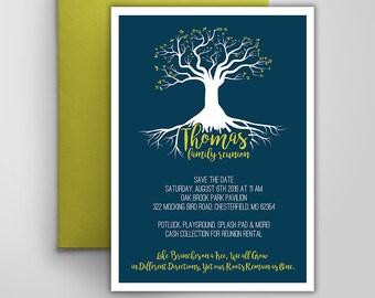Electronic Family Reunion Invitation | Printable Party Invitation