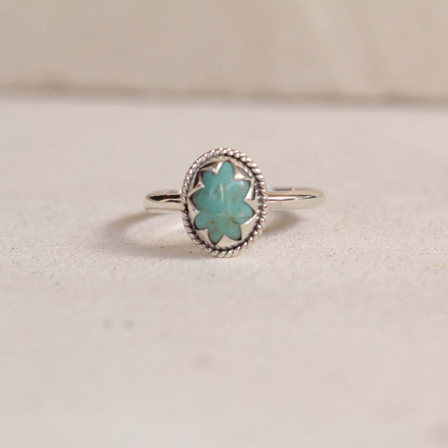 silver stone ideally rings ring pin turquoise pinterest