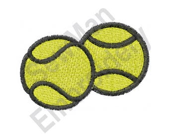 Tennis Balls - Machine Embroidery Design