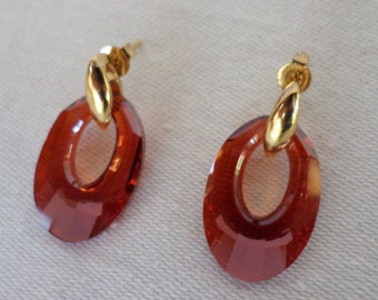 Swarovski Helios Crystal Earrings