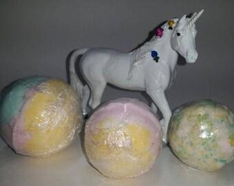 Magic Unicorn Bath Bombs