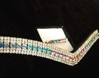 Stunning V Shape Pastel Fade Browband!! Any Size!