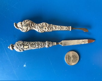 Victorian Sterling Manicure pieces