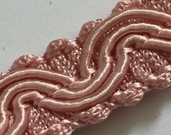 Vintage Trim - 50cm - pink