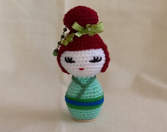 Amigurumi Kokeshi Doll Pattern : Belle doll crochet doll pattern pdf pattern amigurumi from