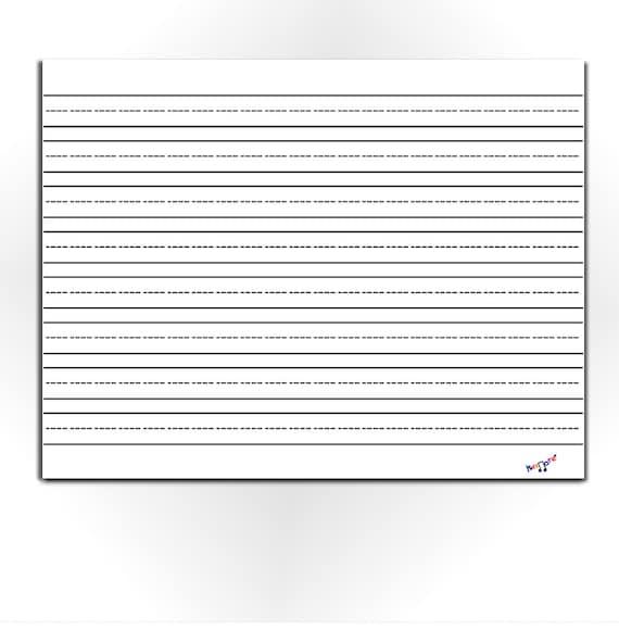 Lined Paper for Kids Blank Lined Paper Preschool