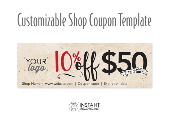 personal coupon template