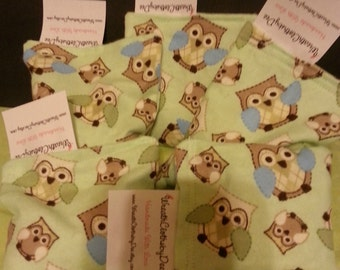Owl Boo Boo Lavender Rice Hot/Cold Packs