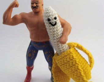 Mr. Nanner - Amigurumi Banana Plushie