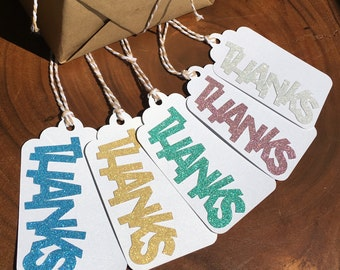 "All That Glitters...""Thanks"" Favor Tags"