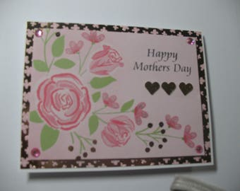 Foiled Flowers Happy Mother's Day Card