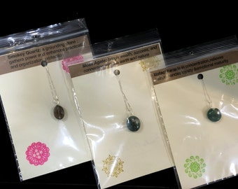 Sterling Silver Stone Necklaces