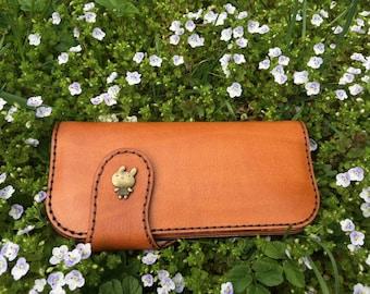 Leather pattern Leather wallet pattern Pdf pattern Purse pattern Leather template Wallet pattern DIY pattern purse instruction