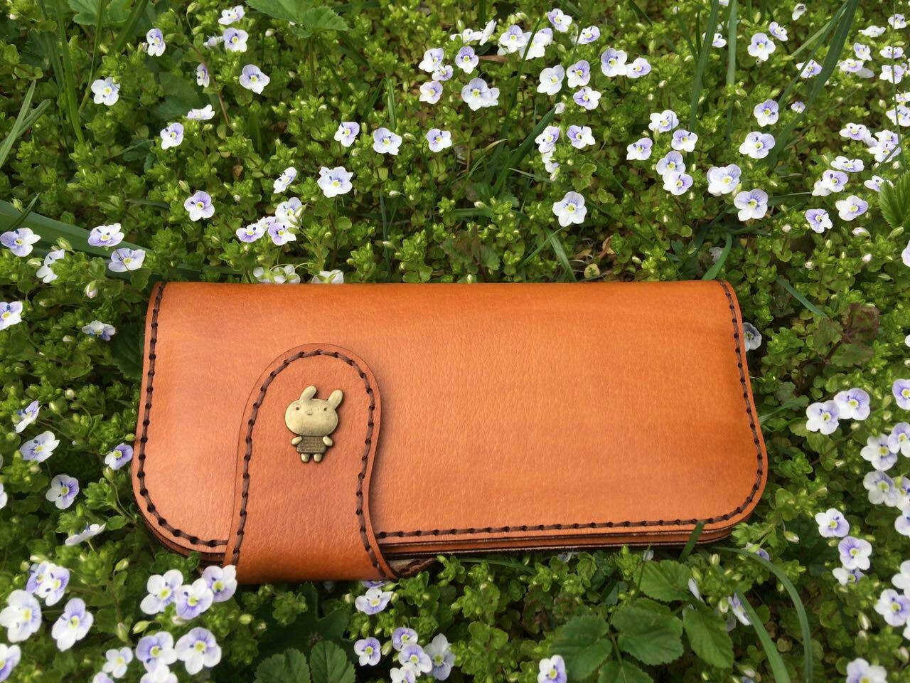 Leather pattern Leather wallet pattern Pdf pattern Purse