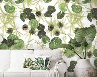Tetes d'artichaut by Frog, Botanical Wallpaper, 10 meter roll, Feature wall, British flowers, Floral wallpaper, Flowers, Photographic