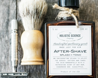 Made Just For Him, After-Shave Splash+Tonic 5oz