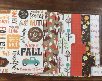 A5 Double-sided Planner Dividers