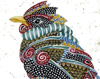 Art Print. Spirit Bird