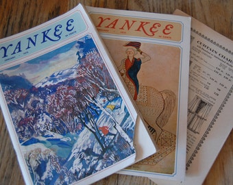 1970 Yankee Magazine - 11 issues - great New England stories and ads - all VG cond