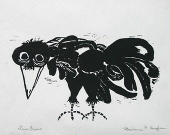 Low Crow by Barbara Fernekes Hughes,