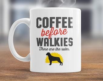 Rottweiler Mug, Rottweiler Gift For The Rottweiler Lover Who Also Loves Coffee, Rottweiler Coffee Mug, Dog Lover Gift, Rottweiler Present
