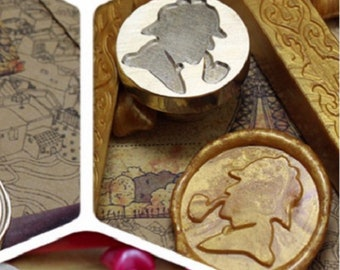 Seal for wax stamp seal detective - Sherlock Holmes investigation...