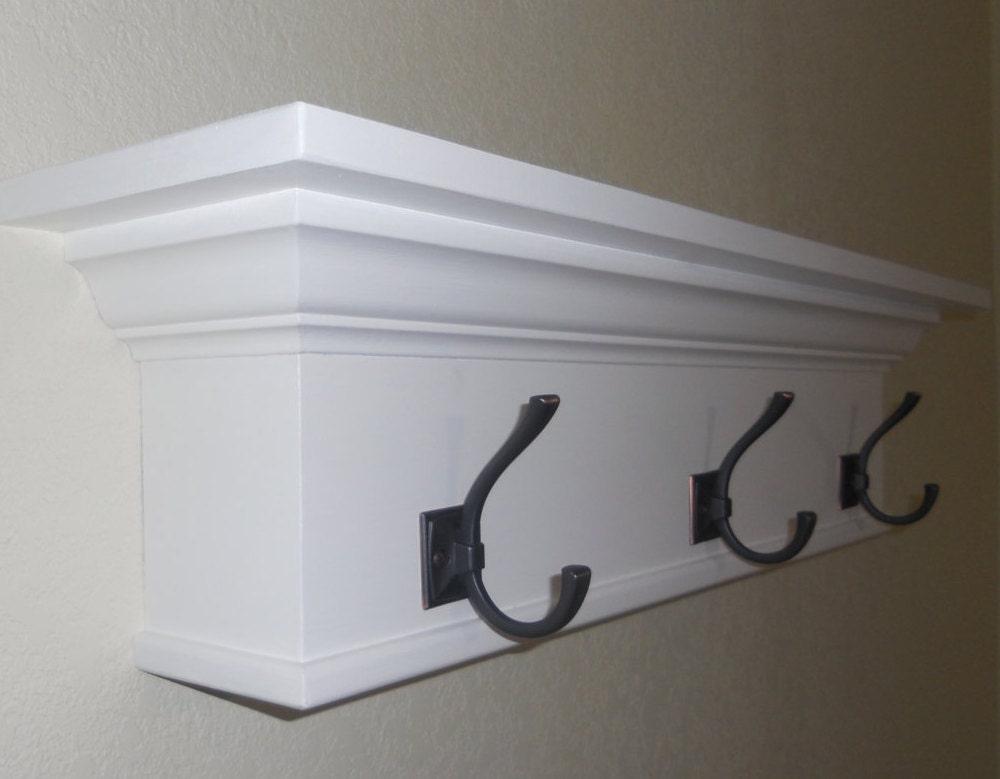 Coat rack Wall Shelf Coat hooks Coat hanger Wall coat