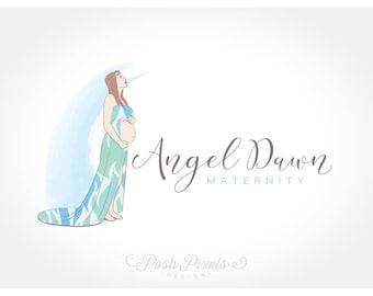 Logo Design (Premade) Maternity logo, Baby logo, Newborn logo, Photography logo, Infant logo, Cute Logo, Feminine logo